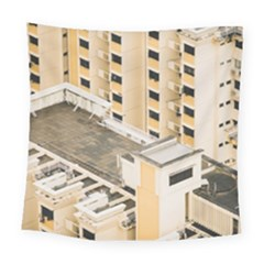 Apartments Architecture Building Square Tapestry (large)