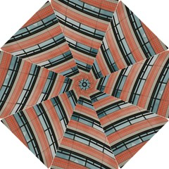 Architecture Building Glass Pattern Hook Handle Umbrellas (small)