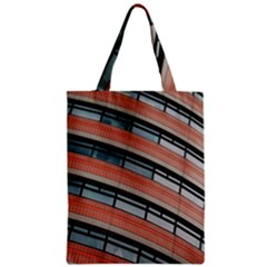 Architecture Building Glass Pattern Zipper Classic Tote Bag