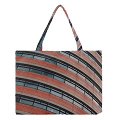 Architecture Building Glass Pattern Medium Tote Bag