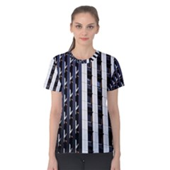 Architecture Building Pattern Women s Cotton Tee