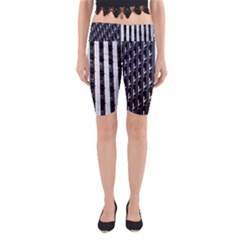 Architecture Building Pattern Yoga Cropped Leggings