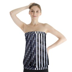 Architecture Building Pattern Strapless Top