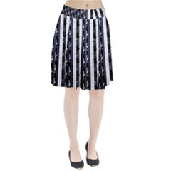 Architecture Building Pattern Pleated Skirt