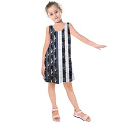 Architecture Building Pattern Kids  Sleeveless Dress