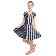 Architecture Building Pattern Kids  Short Sleeve Dress