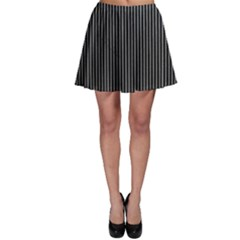 Background Lines Design Texture Skater Skirt