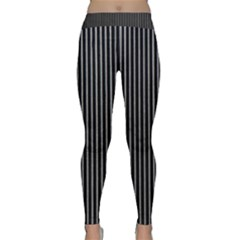Background Lines Design Texture Classic Yoga Leggings