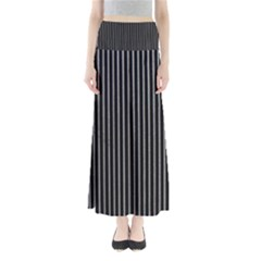 Background Lines Design Texture Maxi Skirts