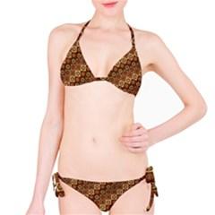 Background Structure Bikini Set