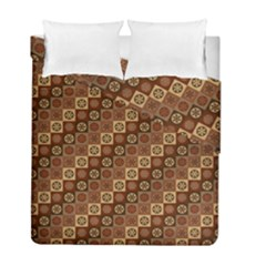 Background Structure Duvet Cover Double Side (full/ Double Size)