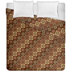 Background Structure Duvet Cover Double Side (california King Size)