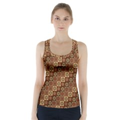 Background Structure Racer Back Sports Top