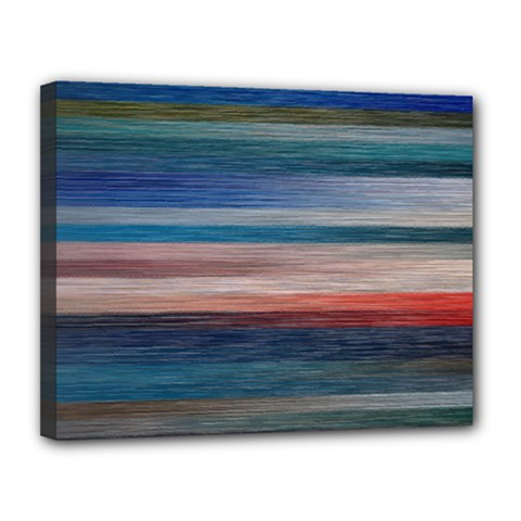 Background Horizontal Lines Canvas 14  X 11