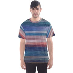 Background Horizontal Lines Men s Sport Mesh Tee