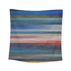 Background Horizontal Lines Square Tapestry (small)