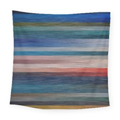 Background Horizontal Lines Square Tapestry (large)