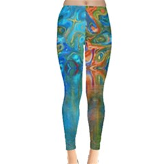 Background Texture Structure Leggings