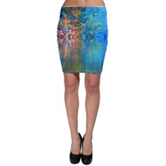Background Texture Structure Bodycon Skirt