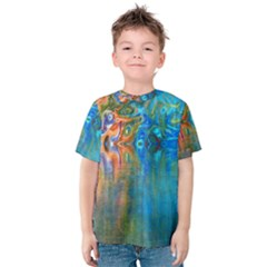 Background Texture Structure Kids  Cotton Tee