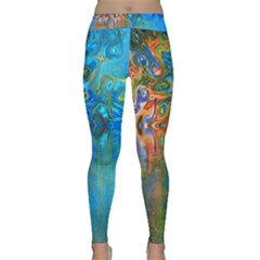 Background Texture Structure Classic Yoga Leggings