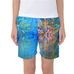 Background Texture Structure Women s Basketball Shorts