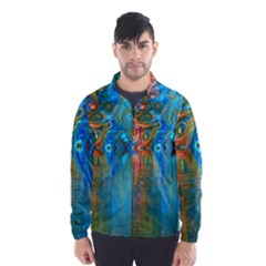 Background Texture Structure Wind Breaker (men)