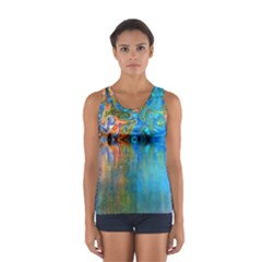 Background Texture Structure Women s Sport Tank Top