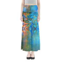 Background Texture Structure Maxi Skirts