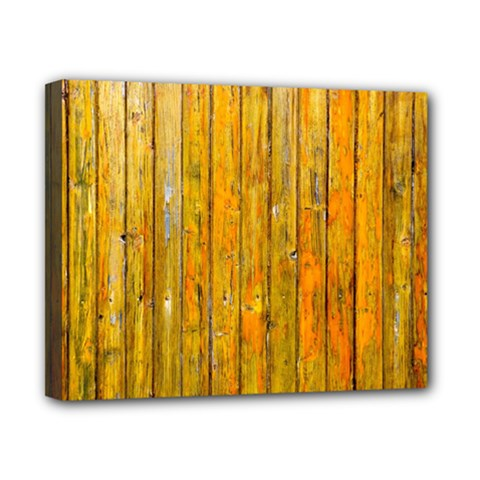 Background Wood Lath Board Fence Canvas 10  X 8