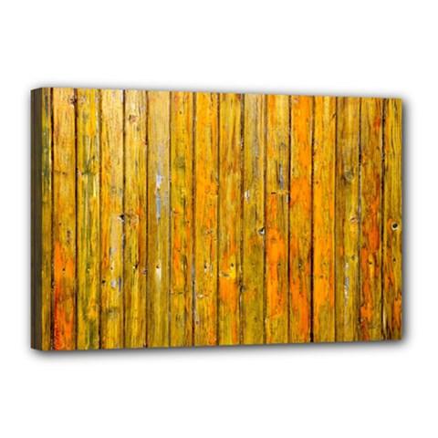Background Wood Lath Board Fence Canvas 18  X 12