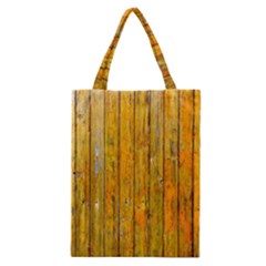 Background Wood Lath Board Fence Classic Tote Bag