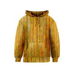 Background Wood Lath Board Fence Kids  Zipper Hoodie