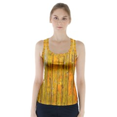 Background Wood Lath Board Fence Racer Back Sports Top