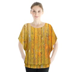 Background Wood Lath Board Fence Blouse
