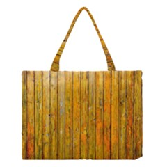 Background Wood Lath Board Fence Medium Tote Bag
