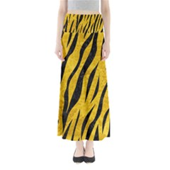 SKN3 BK-YL MARBLE (R) Maxi Skirts