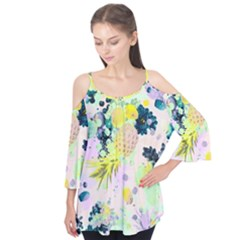Colorful paint Flutter Tees