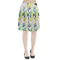 Colorful paint Pleated Skirt