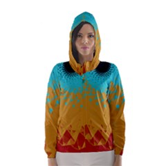 Bluesunfractal Hooded Wind Breaker (women)