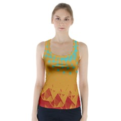Bluesunfractal Racer Back Sports Top