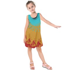 Bluesunfractal Kids  Sleeveless Dress