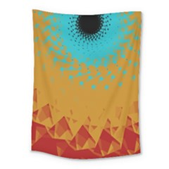 Bluesunfractal Medium Tapestry