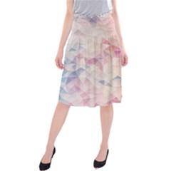 Pastel diamond Midi Beach Skirt