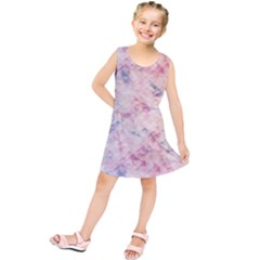 Pastel diamond Kids  Tunic Dress
