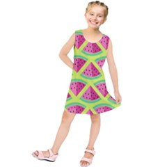 Lovely watermelon Kids  Tunic Dress