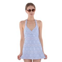 Winter Is Coming Halter Swimsuit Dress