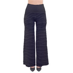 Black Pattern Sand Surface Texture Pants