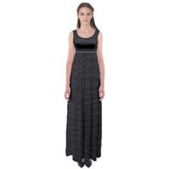 Black Pattern Sand Surface Texture Empire Waist Maxi Dress