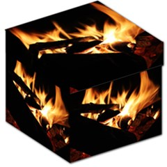 Bonfire Wood Night Hot Flame Heat Storage Stool 12